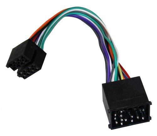 AERZETIX-ISO B2 Converter Adapter Cable Radio Cable Radio Adapter Jack ISO Cable Connector for BMW compliant: