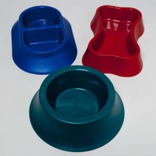 Plastic Pet Bowl in 3 Shapes by DollarItemDirect