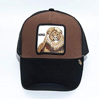 Gorra de béisbol Animal Spot Gorra de Malla con Bordado de águila ...