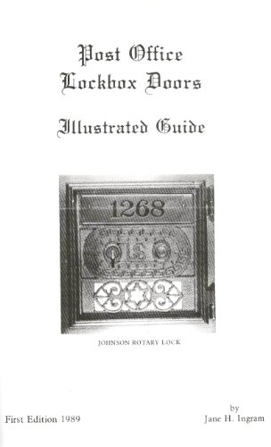 Office Door Post Box (Post office lockbox doors: An illustrated guide)
