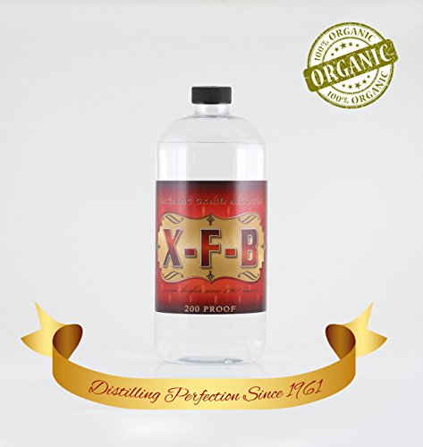 32 OUNCE 200 PROOF USP CERTIFIED 100% ORGANIC AND DISTILLED TO (100 Proof Alcohol)
