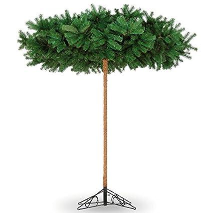 Umbrella Christmas Tree Uk.New 8ft Umbrella Style Artificial Christmas Tree Amazon Co