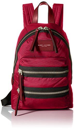Marc Jacobs Nylon Biker Mini Backpack - Raspberry - One Size