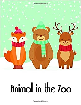 Animal In The Zoo The Coloring Pages Design For Kids