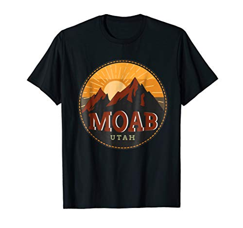 Moab Utah Red Rock Mountain Sunset Gift Shirt