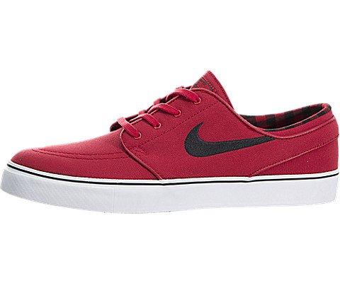 separation shoes cd87a 34e68 Galleon - NIKE Zoom Stefan Janoski Gym Red Black - White Skate Shoes-Men  13.0, Women 14.5