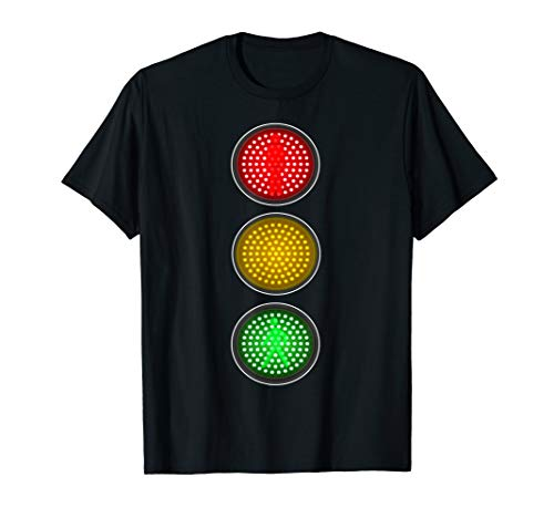 Traffic Signal Light Halloween Group Costume Idea T-Shirt -
