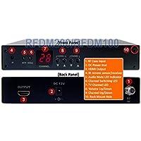 RF Coax To HDMI DVI Demodulator Analog UHF VHF CATV Tuner For NTSC System