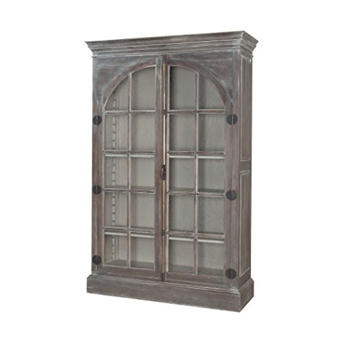 Manhattan Collection Manor Arched Door Display Cabinet by Ben&Jonah