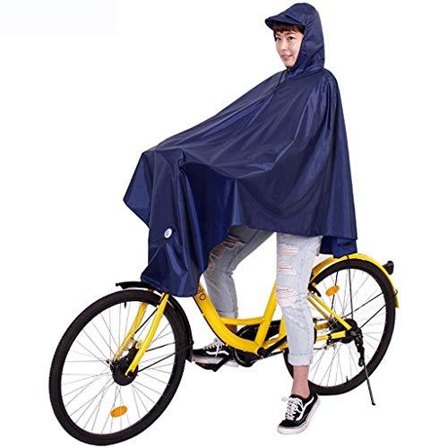 Adulte Vélo 3 Extérieure Et Raincoat Imperméable Battercake Femme Dame Poncho Casual pdqwpU