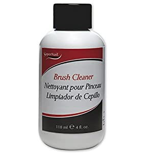 Supernail Brush Cleaner, 4 Fluid Ounce