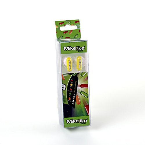 MIKE AND IKE Earbuds - Yellow
