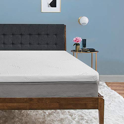 Tempur-Pedic TEMPUR-ProForm Supreme 3-Inch Full Mattress Topper, Medium Firm Luxury Premium Foam, Washable Cover