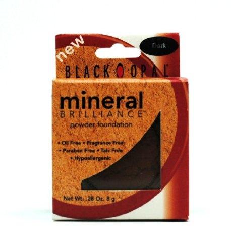 BLACK RADIANCE MINERAL BRILLIANCE POWDER FOUNDATION DARK B005N6HO5U