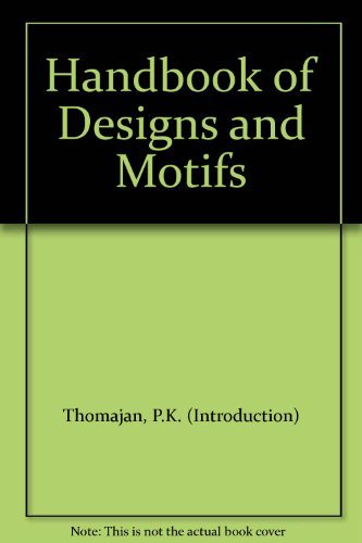 HANDBOOK OF DESIGNS AND MOTIFS. Nearly 7000 designs, motifs, patterns, symbols & decorative devices based on Japanese family crests. Natural, Floral, Circular, Linear, Geometrical, Animal, Religious, Mythological & Other Designs. (Decorative Symbols)