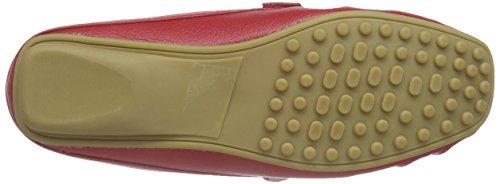 Andrea Conti 0267052 - Mocasines Mujer Rojo - Rot (rot 021)