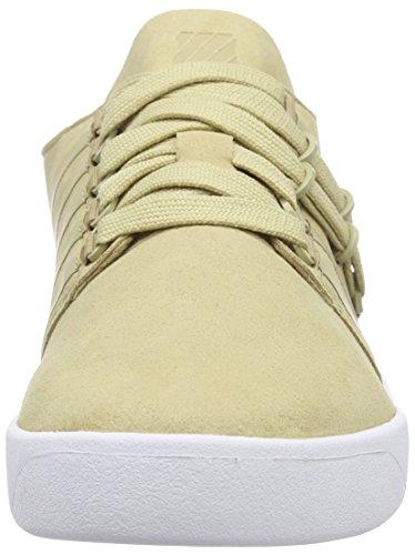 K-Swiss D R Cinch Lo, Sneaker Basse Uomo Verde (Grün (Khaki/White 234))