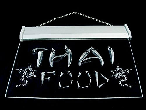 Thai Food Thailand Restaurant Led Light Sign by DIDIGO