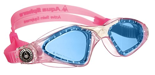 Aqua Sphere Kayenne Junior Goggles, Blue lens/Pink