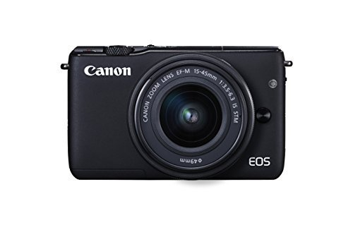 Canon EOS M10 Mirrorless Camera Kit with EF-M 15-45mm Image Stabilization STM Lens...