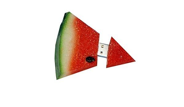 HUAJI Cute Fruit 2GB Watermelon USB Flash Memory Drive for Office Home Accessories
