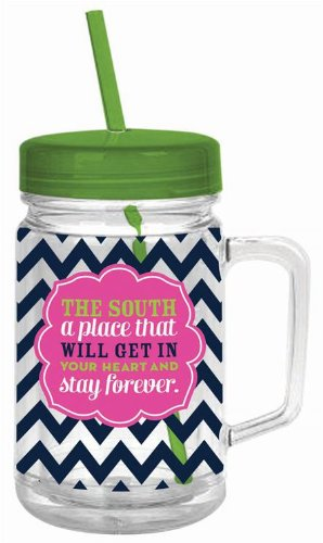 Slant Acrylic Mason Jar The South A Place That Will Stay In