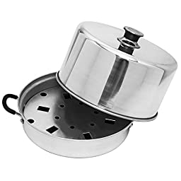 Aluminum Steam Canner with Temperature Indicator by VICTORIO VKP1054