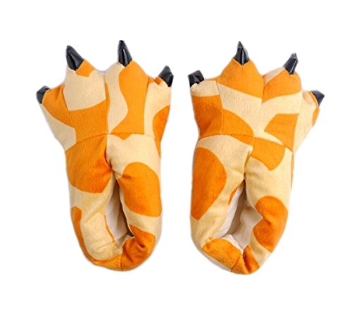 claw Giraffe best slippers gift indoor fashion slippers warm dinosaur Lovely and cozy qxBCCw4Hf