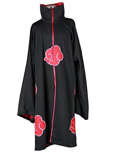 Deidara Akatsuki Costume (Mtxc Men's Naruto Cosplay Costume Akatsuki 2nd Size Medium Black)
