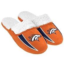 2013 NFL Football Mens Team Logo Sherpa Slippers