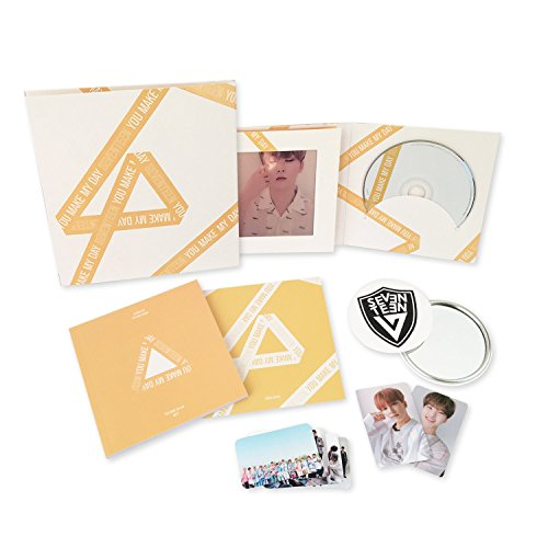 YOU MAKE MY DAY [ MEET Ver. ] - SEVENTEEN 5th Mini Album CD + Photobook + Lenticular card + Photocard + Folded Poster + FREE GIFT / K-POP Sealed