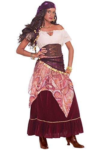 Forum Novelties Women's Madame Mystique Costume, Multi, One Size
