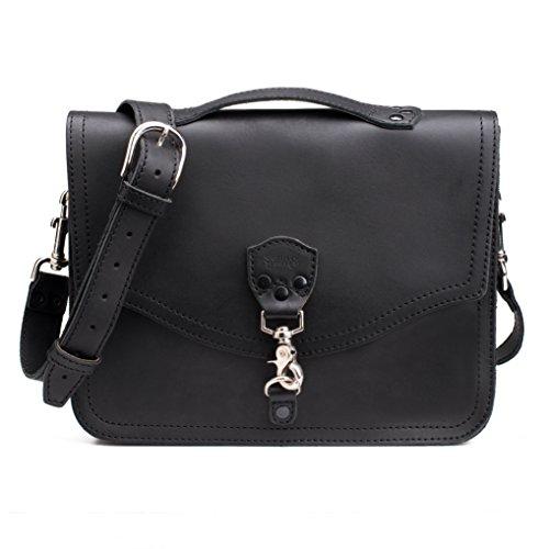 Saddleback Leather Laptop Bag Black (Saddleback Leather Bag)
