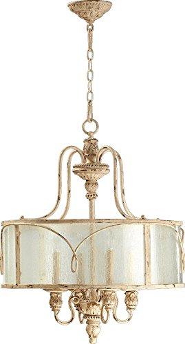 Quorum International 8006-4-70 Salento 4 Light Pendant, Persian White
