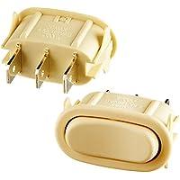 Broan SR561115 Almond Fan and Light Rocker Switch Kit
