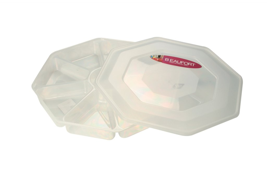 8 Section Nibbles Tray with Lid