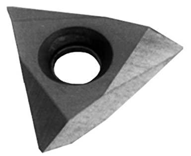 Cobra Carbide 42988 On-Edge Solid Carbide Grooving Insert 1//8 Cutting Width Pack of 10 TPMC Style C520 Grade 10 Degrees Lead Angle