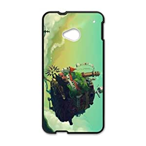 HTC One M7 Cell Phone Case Black Castle in the sky as a gift P9170720