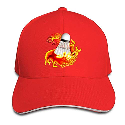 Hat Badminton Fire Denim Skull Cap Cowboy Cowgirl Sport Hats Men Women