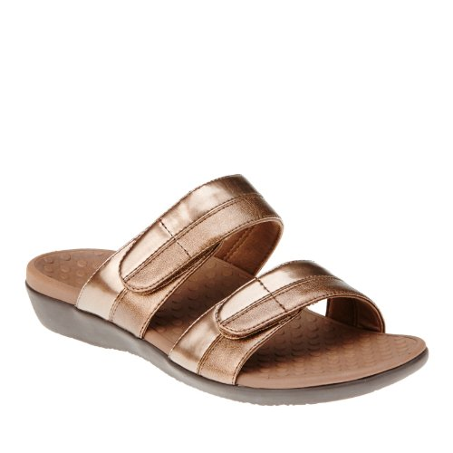 Vionic by Women's Slide Orthaheel Bronze Sandal Shore wpBw0SHq