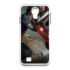 Captain-America Samsung Galaxy S4 9500 Cell Phone Case White Q6971392