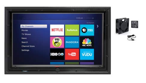 """The TV Shield 36-43"""" Outdoor TV Enclosure with Fan, (2nd Generation - 2020 Model), Fits 36-43"""" Television"""
