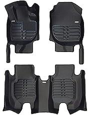 TuxMat Custom Car Floor Mats for Honda HR-V 2016-2022 Models- Laser Measured, Largest Coverage, Waterproof, All Weather. The Ultimate Winter Mats, Also Look Great in the Summer.The BestHonda HR-V Accessory. (Full Set - Black)