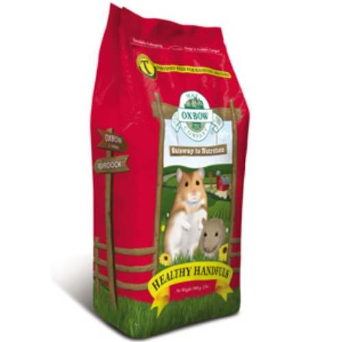 Oxbow HEALTHY HANDFULS Hamster and Gerbil Complete Stabilized Food 1 lb, My Pet Supplies
