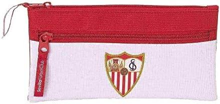 Safta Estuche Doble Cremallera Sevilla F.C. Oficial Escolar ...