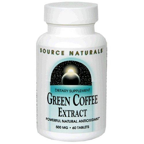 Source Naturals extrait de café vert, 60 comprimés
