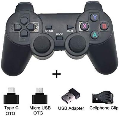 Alician - Mando a distancia inalámbrico para PS3 Android Teléfono, TV, Laptops PC