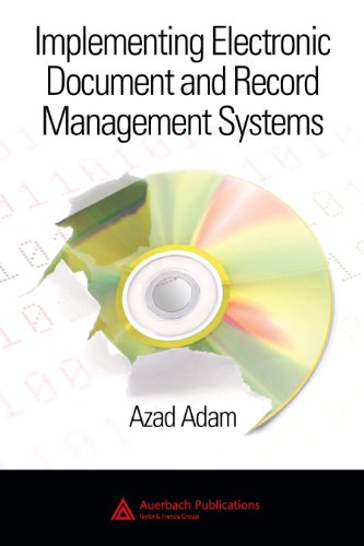 Download Implementing Electronic Document and Record Management Systems Pdf