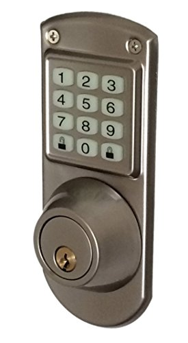 Code A Key Electronic Keyless Door Lock Deadbolt System