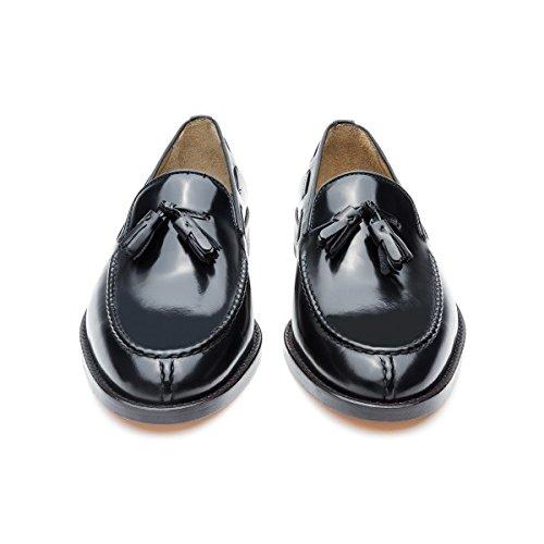 Castellano® 1920 Madrid - Mocasín florentick Negro con borlas para Hombre: Amazon.es: Zapatos y complementos